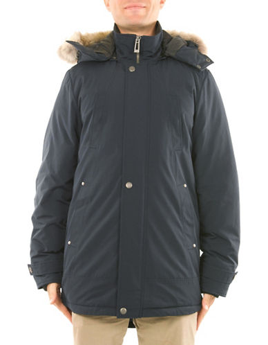 Company Of Adventurers Essential Down-Filled Parka-NAVY-X-Large