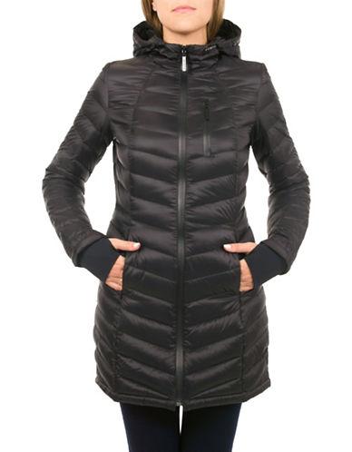 London Fog Lightweight Down Jacket-BLACK-X-Small 88443482_BLACK_X-Small