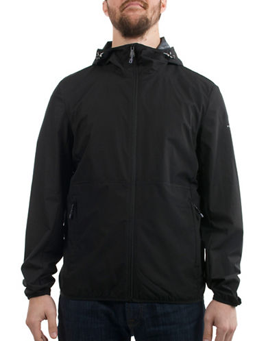 Perry Ellis Dobby Jacket-BLACK-X-Large 89018728_BLACK_X-Large