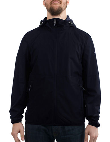 Perry Ellis Dobby Jacket-BLUE-X-Large 89018736_BLUE_X-Large