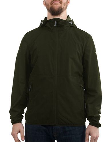 Perry Ellis Dobby Jacket-GREEN-Medium