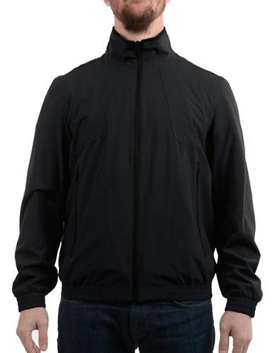 Perry Ellis Matte Stretch Jacket-BLACK-Medium