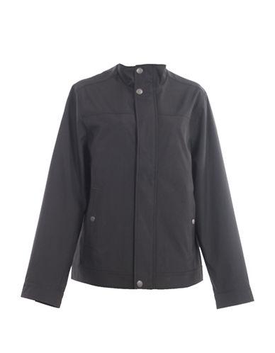 Perry Ellis Spring Shell Jacket-BLACK-Small
