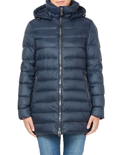 London Fog Mid-Weight Down Filled Jacket-NAVY-X-Small