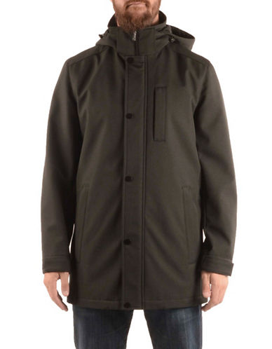 Nautica Nautica Softshell Jacket-BLACK-Medium