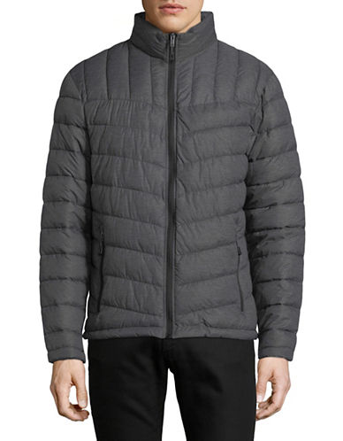 London Fog Packable Quilted Jacket-GREY-XX-Large 89828279_GREY_XX-Large