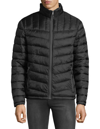 London Fog Packable Quilted Jacket-BLACK-Small 89828270_BLACK_Small