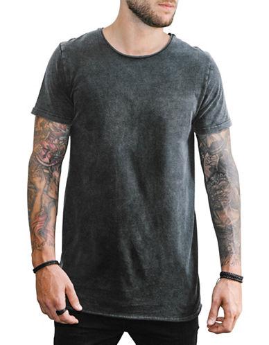 Vitaly Fishtail T-Shirt-ACID BLACK-Large