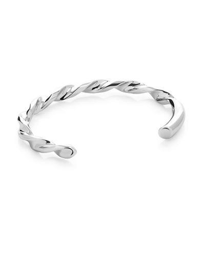 Vitaly Borr X Cuff Bracelet-STEEL-8.5