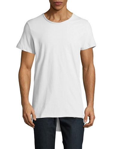 Vitaly Fishtail T-Shirt-WHITE-Small