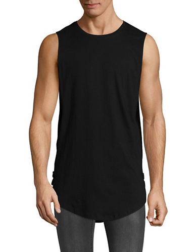 Vitaly Strapped Tank Top-BLACK-Small