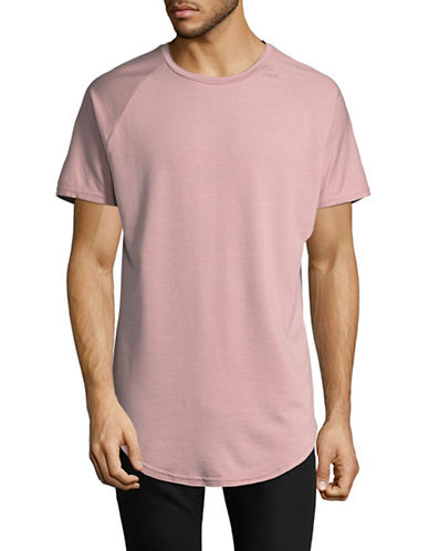 Vitaly Scooped Tee-PINK-Large