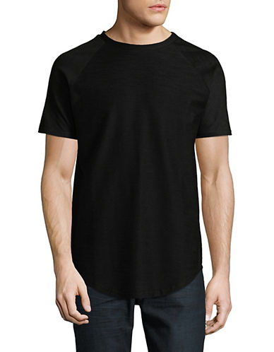 Vitaly Scooped Short-Sleeve T-Shirt-BLACK-Large 90063016_BLACK_Large