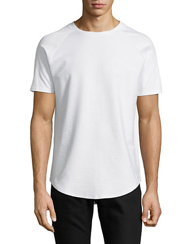 Vitaly Scooped Short-Sleeve T-Shirt-WHITE-Small 90063022_WHITE_Small