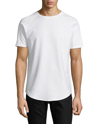 Vitaly Scooped Short-Sleeve T-Shirt-WHITE-X-Large 90063025_WHITE_X-Large