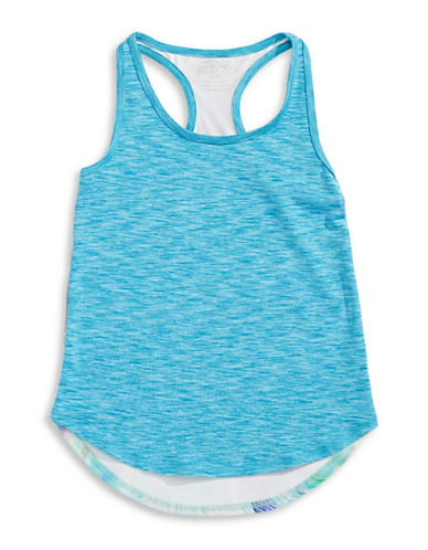 Jill Yoga Multi-Print Racerback Tank-BLUE-X-Large 88279384_BLUE_X-Large