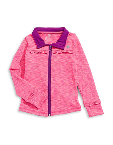 Jill Yoga Printed Zip-Up Jacket-PINK-5 88716520_PINK_5