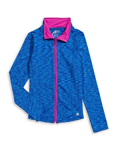 Jill Yoga Classic Yoga Jacket-BLUE-X-Large 88468131_BLUE_X-Large