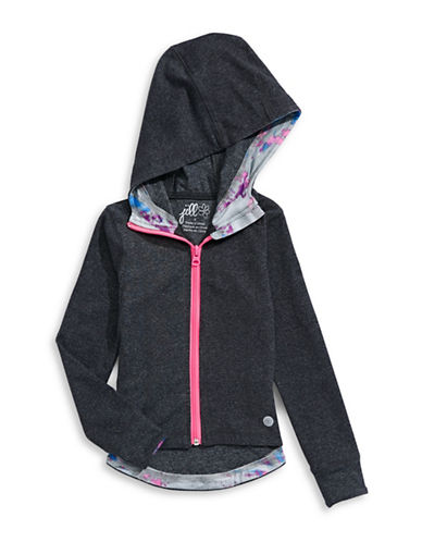 Jill Yoga Stretch Hooded Jacket-GREY-2 88716507_GREY_2
