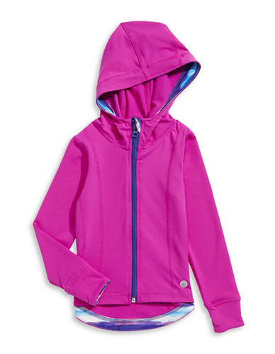 Jill Yoga Stretch Hooded Jacket-MAGENTA-5 88474908_MAGENTA_5