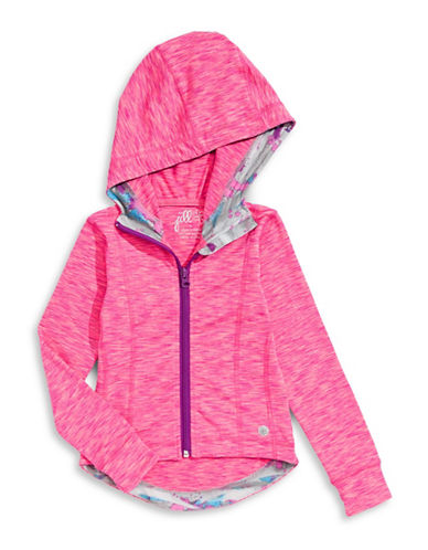 Jill Yoga Stretch Hooded Jacket-PINK-2 88554814_PINK_2