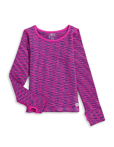 Jill Yoga Seamless Space Dye Top-MAGENTA-4-6 88476165_MAGENTA_4-6