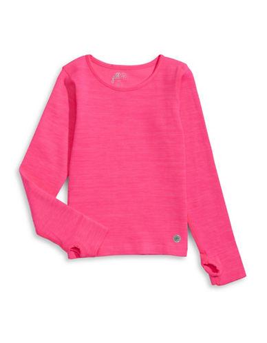 Jill Yoga Seamless Space Dye Top-PINK-4-6 88554820_PINK_4-6