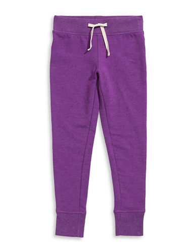 Jill Yoga Yoga Fleece Jogger Pants-PURPLE-X-Large 88468159_PURPLE_X-Large