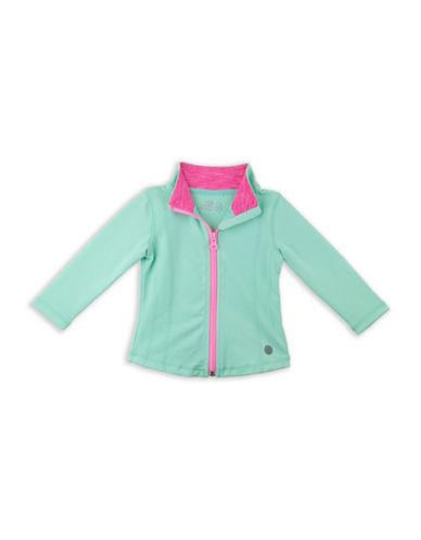 Jill Yoga Classic Yoga Jacket-GREEN-12-18 Months 88474449_GREEN_12-18 Months