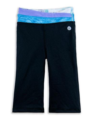 Jill Yoga Classic Yoga Pants-BLACK-12-18 Months plus size,  plus size fashion plus size appare