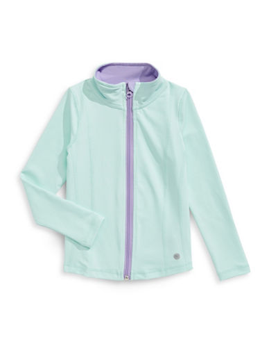 Jill Yoga Contrast-Trim Yoga Jacket-BLUE-Small 88964279_BLUE_Small