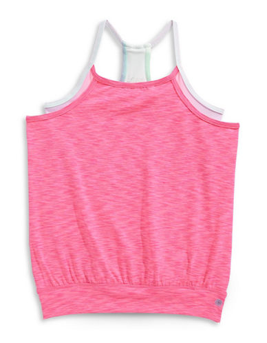 Jill Yoga Double Layer Active Tank-PINK-X-Large 89026050_PINK_X-Large