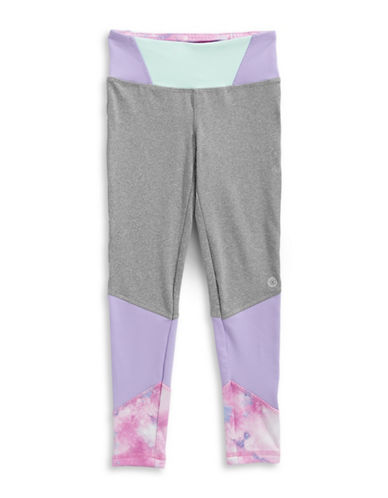 Jill Yoga Colourblocked Leggings-GREY-Medium 88964300_GREY_Medium