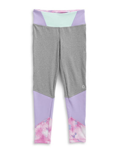 Jill Yoga Colourblocked Leggings-GREY-2T 88961709_GREY_2T