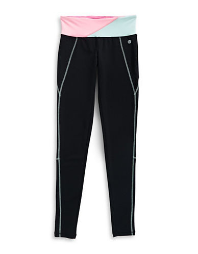 Jill Yoga Colourblocked Leggings-BLACK-6 89076838_BLACK_6