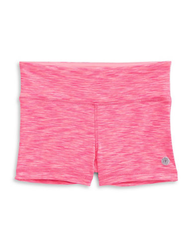 Jill Yoga Wide Waistband Shorts-PINK-4
