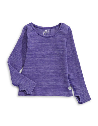 Jill Yoga Yoga Seamless Top-PURPLE-2-4 89402136_PURPLE_2-4