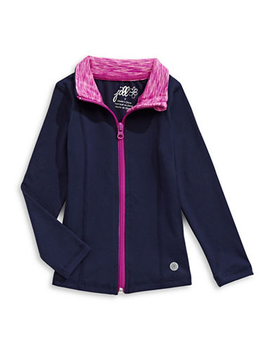 Jill Yoga Yoga Zip Jacket-NAVY-18-24 Months