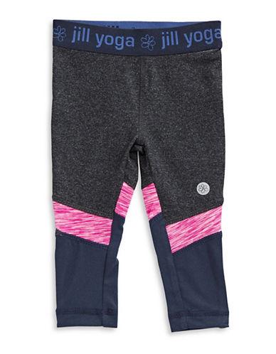 Jill Yoga Cut and Sew Leggings-GREY-12-18 Months