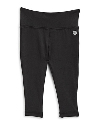 Jill Yoga Full Length Yoga Leggings-BLACK-12-18 Months