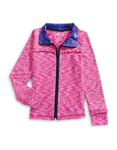 Jill Yoga Ruffled Yoga Jacket-PINK-3 89633662_PINK_3