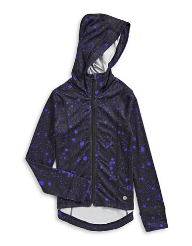 Jill Yoga Speckled Hoodie-PURPLE-X-Large 89567024_PURPLE_X-Large