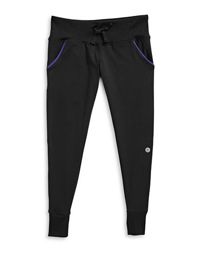 Jill Yoga Active Jogger Pants-BLACK-Large