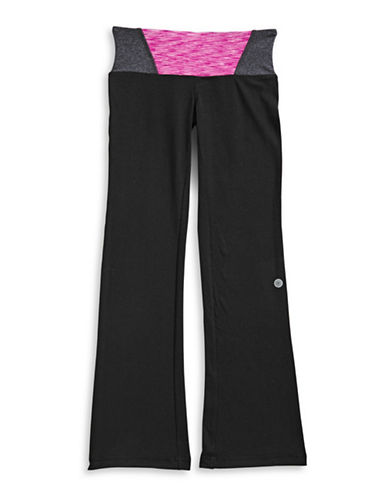 Jill Yoga Bootcut Yoga Pants-BLACK-X-Large