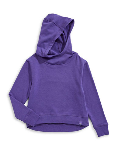 Jill Yoga Hi-Lo Hoodie-PURPLE-X-Large 89567031_PURPLE_X-Large