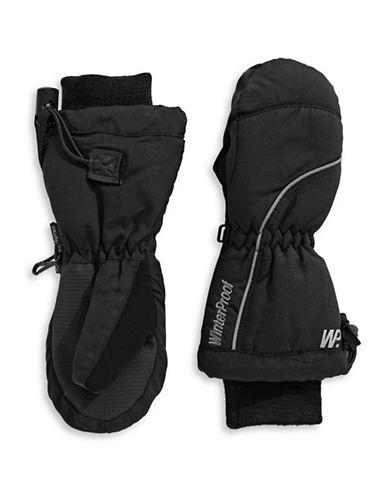 Winterproof Ski Mittens-BLACK-4-6X
