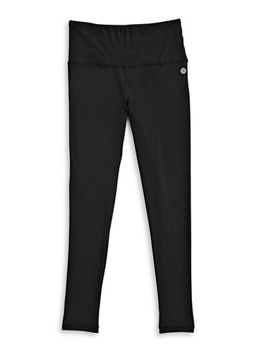 Jill Yoga High-Waist Leggings-BLACK-Medium