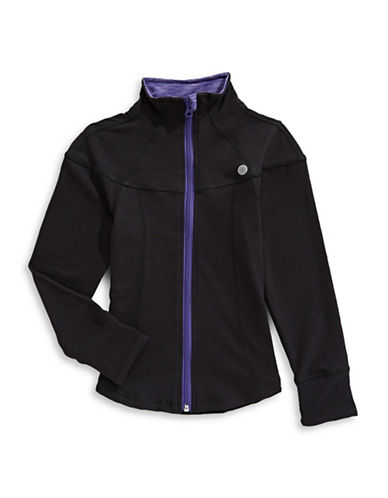 Jill Yoga Yoga Athletic Jacket-BLACK-5 89730096_BLACK_5