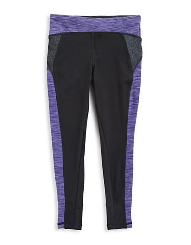 Jill Yoga Colourblock Yoga Leggings-BLACK-4