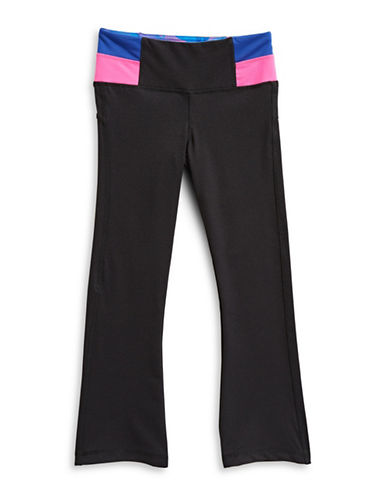 Jill Yoga Classic Colourblock Yoga Pants-BLACK-5 89789678_BLACK_5